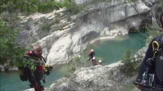 preview picture of video 'Villalba de la Sierra (Cuenca) - La Poza del Tranco (06-07-2014) - ActiSub Cuenca'