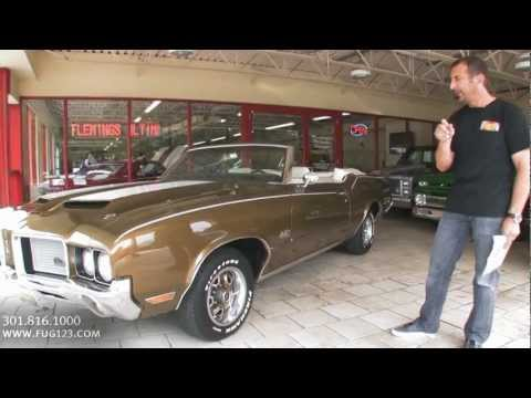 1972 Oldsmobile Cutlass 442 Convertible Test Drive