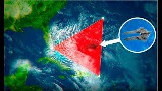 В Бермудском треугольнике обнаружен инопланетный корабль - затонувший НЛО размером с два футб. поля