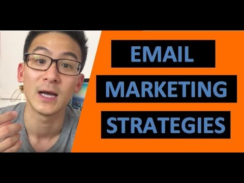 Email Marketing Strategies You HAVE TO Use In Your Online Business...