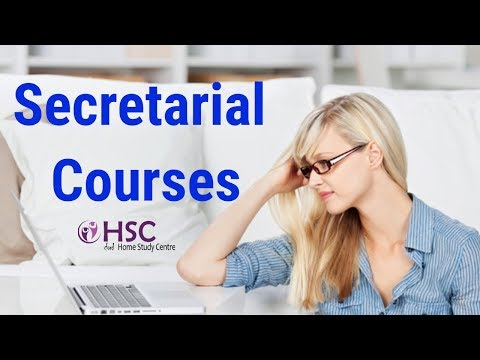 Secretarial Courses Online | PA Courses - YouTube