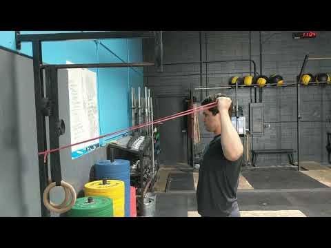 Single Arm Banded Retraction/External Rotation/Press
