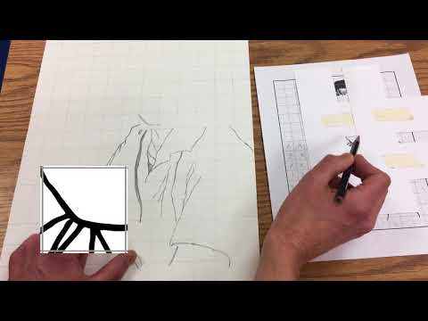How to Draw A Portrait Using the Grid Method