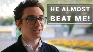 Fabiano Caruana on His Game Against Vincent Keymer | GRENKE Chess Classic 2019