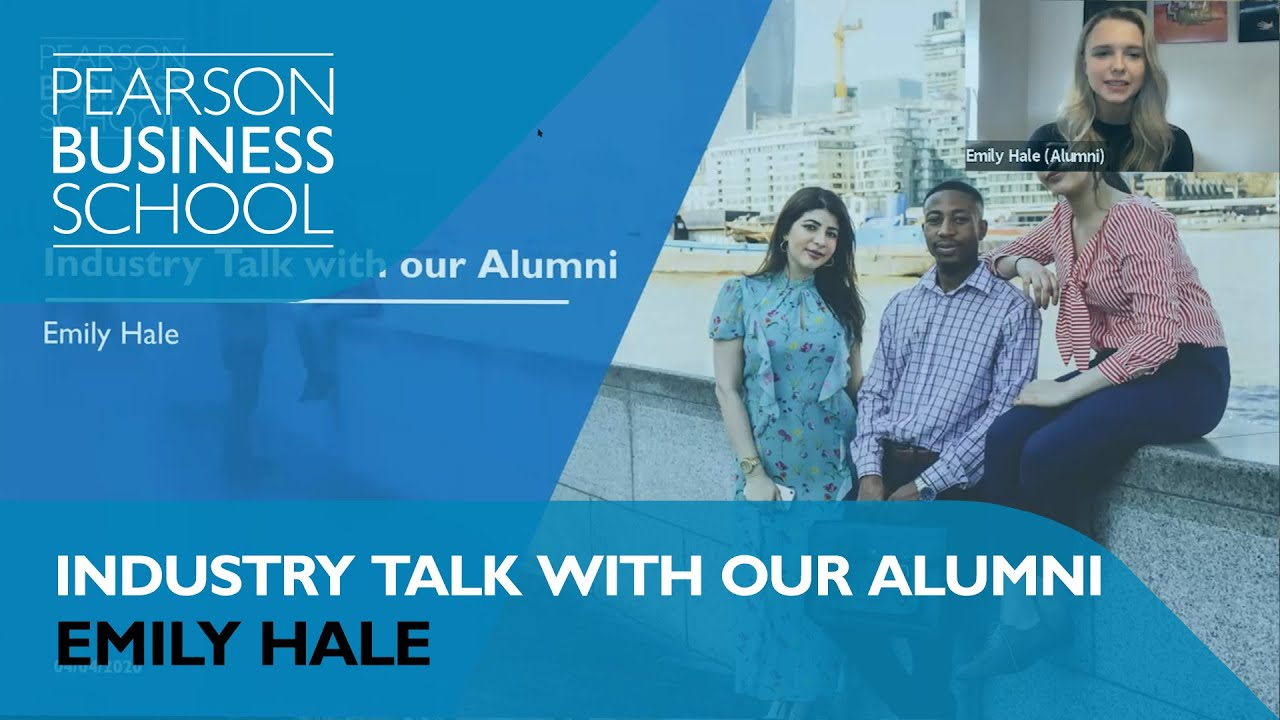 Industry Talks With Our Alumni: Emily Hale