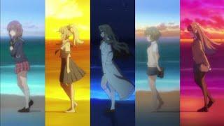 [ENDING COMPARISON] Seishun Buta Yarou 5 Arc
