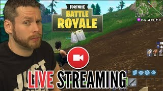 Fortnite Live! SEARCHING FOR NEW SQUAD MEMBERS!
