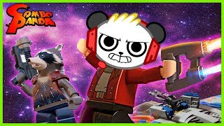 Lego Marvel Superheroes 2 MR STAR LORD! Let's Play with Combo Panda
