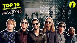 Maroon 5 - Top 10 Mejores Canciones | Dafantop