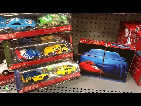 New Disney Cars 2018 Toys Walmart Toy Hunt 2-pack Diecast | Lightning McQueen 2018 Boxes