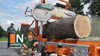 Das mobile Norwood-Bandsägewerk LumberPro HD36 – Manuell oder hydraulisch … Sie haben die Wahl!!