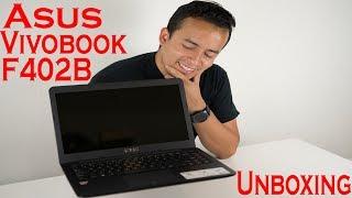 Asus Vivobook F402B Unboxing