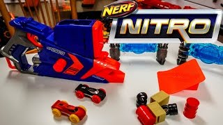 "Бластер-трек Hasbro Nerf Nitro FlashFury Chaos Флешфьюри от компании Интернет-магазин ""Timatoma"" - видео 1"