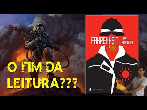 O FIM DA LEITURA ? - Fahrenheit 451 ( Ray Bradbury)