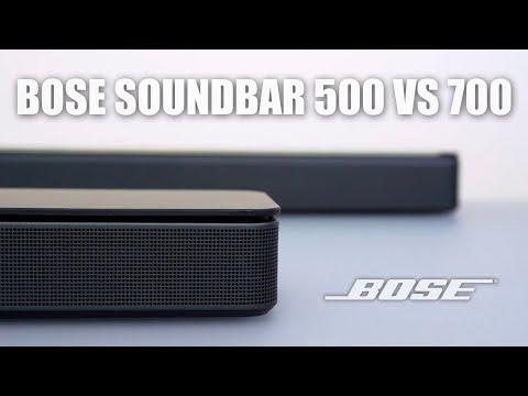 Bose Soundbar 500 vs 700 Comparison and Review!