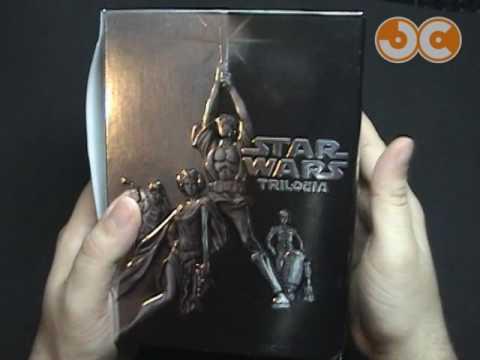 DVD - Box Star Wars Trilogia 4 DVDs (2004)