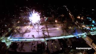 preview picture of video 'Winter Carnival Fireworks'