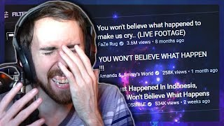 Asmongold Rants About Clickbait.. and Girls (what happens next will SHOCK you!)