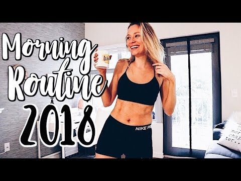 MORNING ROUTINE 2018 | Productive & Healthy | Renee Amberg