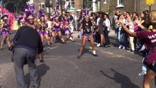 preview picture of video 'Hackney carnival 2014.'