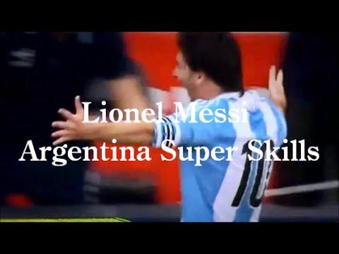 リオネル・メッシのアルゼンチン代表スーパープレイ集動画