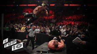 Announce table crash landings: WWE Top 10
