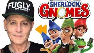 """""""Sherlock Gnomes"""" Voice Actors and Characters"""