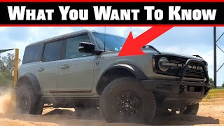 We Answer YOUR Questions On The 2021 Ford Bronco: Here's What You Want To Know!   Bronco Week Ep.5