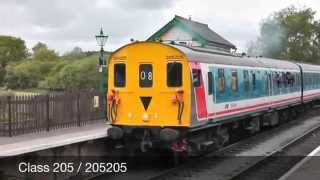 preview picture of video 'Class 205 (205205) Epping and Ongar Railway'