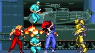 The Ninja Warriors (SNES) - Parking Bloc