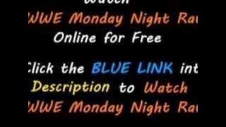 watch Monday Night Raw Live free 14/7/2014