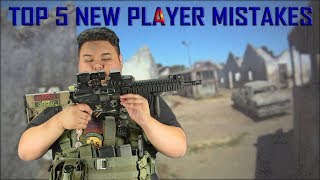 CISCO Mini TGH / Top 5 New Player Mistakes- Airsoft GI