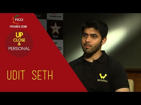 Up Close & Personal With Udit Seth !! FICCI frames