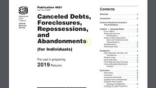 1099 C WHAT CAN I DO ABOUT IT || DEBT CANCELLATION