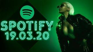 SPOTIFY TOP 50 | САМЫЕ ПРОСЛУШИВАЕМЫЕ ПЕСНИ НЕДЕЛИ СО ВСЕГО МИРА! ВЫПУСК ОТ 19 МАРТА 2020 ГОДА!