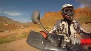 preview picture of video 'Marocco 2013 - 4° moto adv (Merzouga,gole Todra,gole Dadès,Tinghir)'