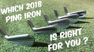 Ping G400 Vs G700 Vs I BLADE Vs I210 Vs I500  The 2018 Line Up   FULL RANGE REVIEW