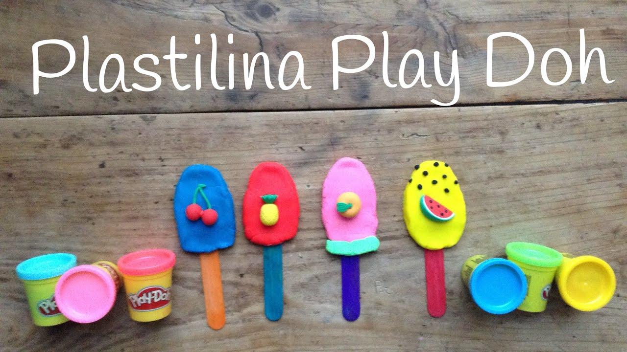 Play Doh HELADOS en español | Figuras de PLASTILINA fáciles de hacer