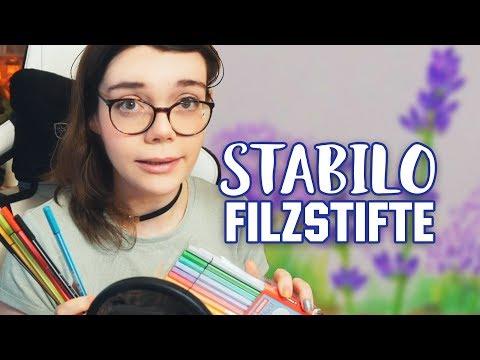 STABILO® Filzstifte in Pastell = PERFEKT! 📚 Prompt Book