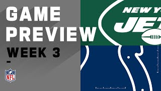 New York Jets vs. Indianapolis Colts | Week 3 NFL Game Preview