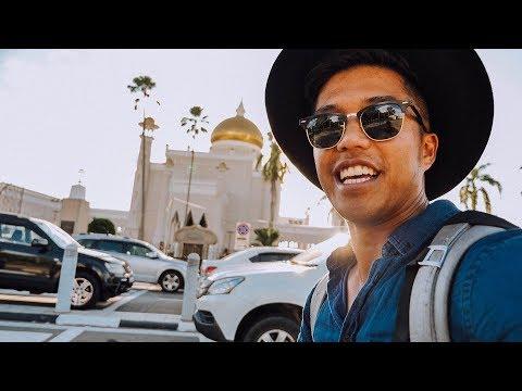 SIGHTSEEING TOUR AROUND BRUNEI!!! (202 | Southeast Asia Travel VLOG)