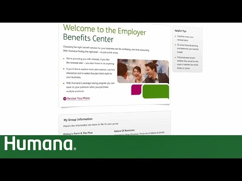 Video Employer Benefits Center for Small Business | Humana
