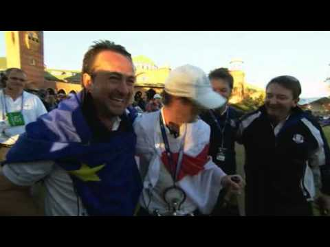Ryder Cup – Celebrations on the 18th