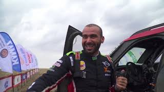 Yazeed Alrajhi & Timo Gottschalk at Silkway Rally 2018 - Part 1