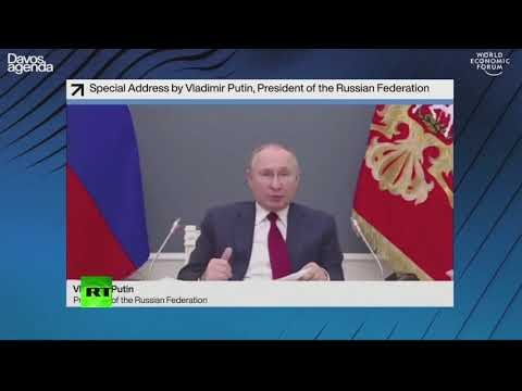 Big Tech have become rivals to govts | Putin at the World Economic Forum in Davos