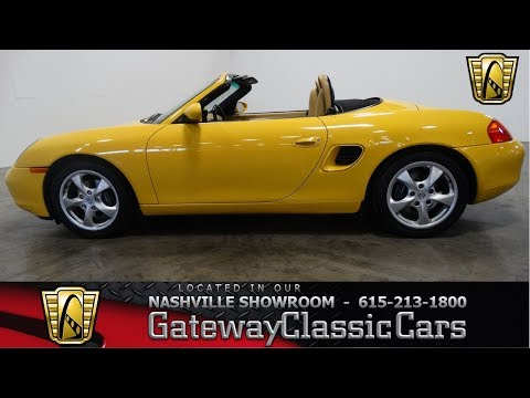 Video of '02 Boxster - MCYS