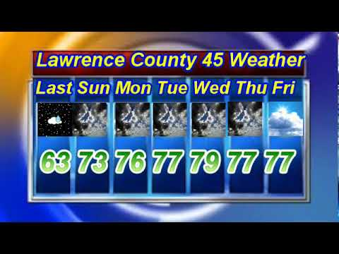 NCTV45′S LAWRENCE COUNTY 45 WEATHER SUNDAY JUNE 16 2019