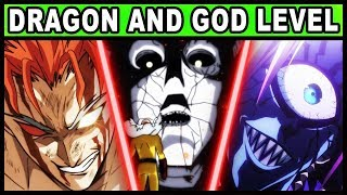 All Dragon and God-Level Monsters Explained! (One Punch Man)
