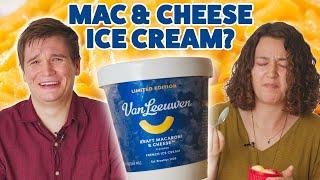 We Tried The Kraft Mac And Cheese Ice Cream