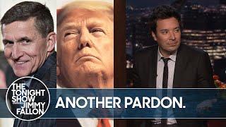 Trump Pardons Former National Security Advisor Michael Flynn | The Tonight Show
